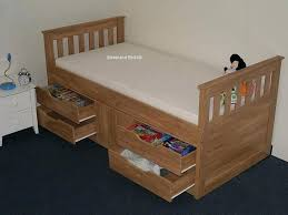 single bed frame with storage single captain bed with single bed frame with drawers luxury white