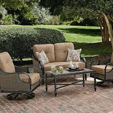 LaZBoy Outdoor  DCHL4PC  Charlotte 4 Piece Seating Set Outdoor Furniture Charlotte