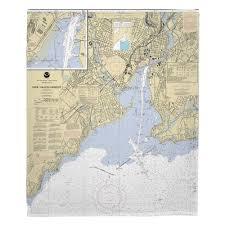 Ct New Haven Harbor Ct Nautical Chart Blanket Island