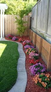 garden landscaping ideas. Wonder If It Would Be Super Complicated To Lay A Wide Concrete Edge Like That? Looks So Clean. Garden Landscaping Ideas