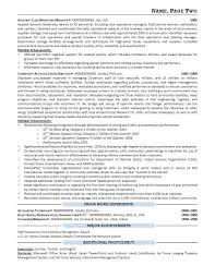 Sample Military Administrative Assistant Resume Inspirationa ...