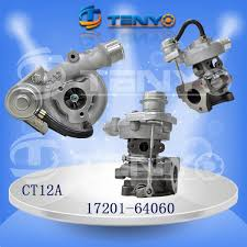 TOYOTA 3CT Engine CT12A 17201-64060 Turbocharger, OEM Number 17201 ...