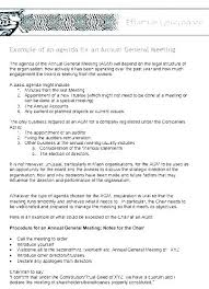 Outlook Meeting Agenda Template Trustee Meeting Agenda Template