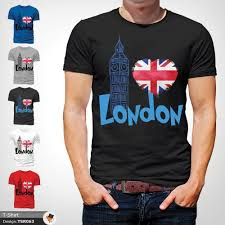 Trendy Shirt Designs 2018 London England Tshirt Tee Trendy Great Britain Gift Union Jack T Shirt Black 1 2018 New Short Sleeve Family Top Tee