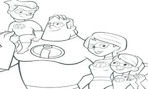 The Incredibles Coloring The Coloring Pages How To Print Coloring