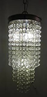 mini raindrop crystal chandelier