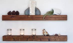 Salvaged Wood Floating Shelves Simple Reclaimed Floating Shelves Morespoons 32c32aa32d32