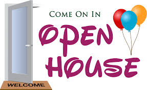 Image result for open house for school clip art