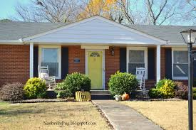 yellow brick house red door. Yellow Brick House Red Door For Top NashvillePug What Do You See C