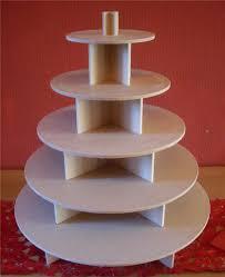 5 Tier Round Cupcake Party Wedding Cake Buffet Stand Ebay Cupcake Wedding Cake Stands Photos