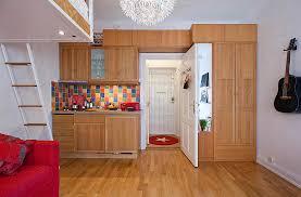 Cool Furniture Arrangement Studio Apartment Interior