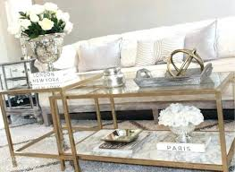 faux marble living room table set fake coffee round top kitchen wonderful nesting tables turned gold