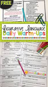 Figurative Language Worksheets For High School Pdf Metaphor ...