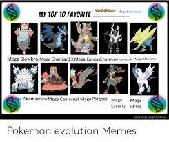 Absol Evolution Chart