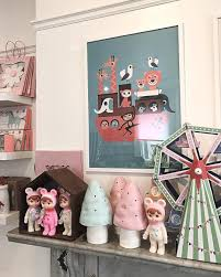 Woodland Dolls And Toadstool Lamps At Wu Concept Childrens
