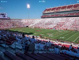 Gaylord Oklahoma Memorial Stadium Seating Chart Gaylord Family Oklahoma Memorial Stadium Section 1 Seat