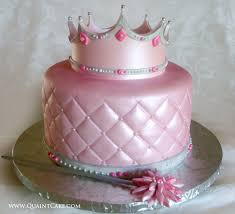 Pink Princess Cake Idea