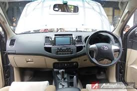 2014 Toyota Fortuner G 4×4 VNTurbo AT Interior   AutonetMagz