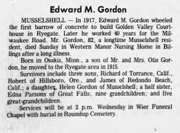Edward Myles Gordon Obituary - Newspapers.com