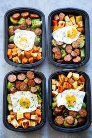 Weekly Lunch Prep Paleo Meal Prep Breakfast Bowls Whole30