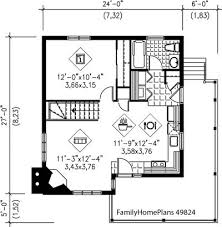 bungalow floor plans. Bungalow Home And Porch Plan From Family Plans 49824 Floor