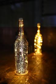 Lights For Wine Bottles Amazoncom Acelife Wine Bottle Light Led Starry String Lights Kit