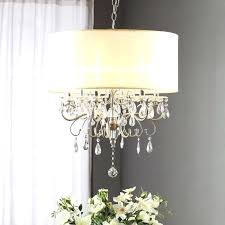 lovely small ceiling chandelier for most sensational silver mist hanging drum shade chandelier by for