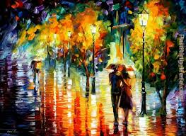 leonid afremov two painting is shipped worldwide including stretched canvas and framed art this leonid afremov two painting is available at