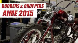 coolest bobbers choppers and custom motorcycles of aimexpo 2015