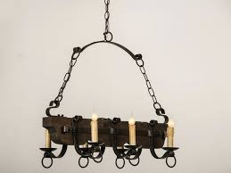 chandeliers rustic hanging candle chandelier old and vintage wood and black iron chandelier with candle