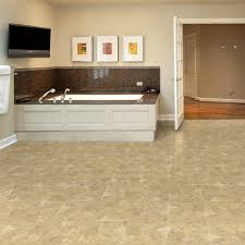 Slate Kitchen Floor Tiles Trafficmaster 12 In X 12 In Beige Slate Solid Vinyl Tile 30 Sq