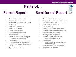Formal Report Business Template Templates Free Sample Example Format