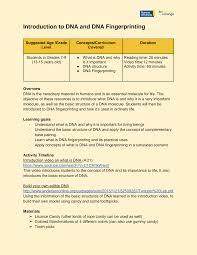 27 students verified as accurate: Https Www Ryerson Ca Content Dam Scixchange Scixchange Documents Stemathome Dnafingerprintinglesson Pdf