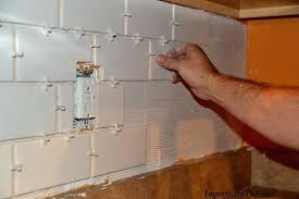gap between and enormous subway tile home interior backsplash countertop wall gap between backsplash and countertop