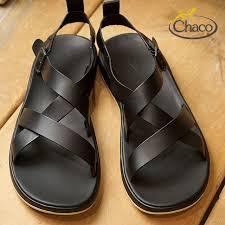 chaco sandal chaco men leather sandal mens wayfarer ウェイヘラー black black 12366134 j106139 ss18