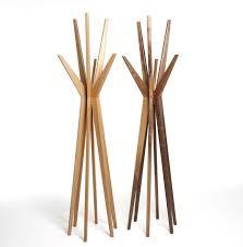 Wooden Coat Rack Stand Magnificent Wooden Standing Coat Racks Sevenstonesinc