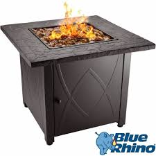 blue rhino outdoor propane fire table