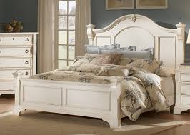 Distressed Cream Bedroom Furniture