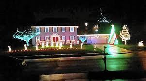 christmas home lighting. Brad\u0027s Bel Air Light Show Is Ready For \u0027A Blue Christmas\u0027 Starting Thursday, Dec. 1 - The Aegis Christmas Home Lighting P