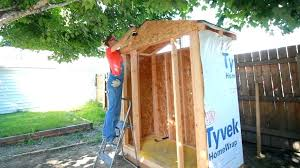 diy shed cost how to build shed cost plans wood your own a small storage