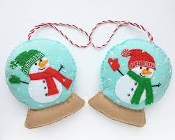 Pin by Janie Fischer on Christmas | Felt christmas ornaments, Felt  christmas, Christmas ornaments to make
