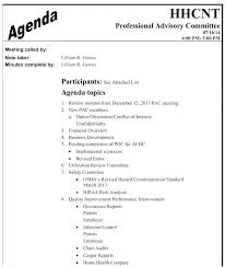 Great Health And Safety Committee Meeting Agenda Template Images A ...
