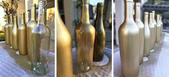 gold spray painted bottles, crafts, how to, repurposing upcycling