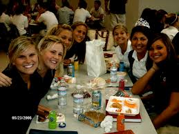 high school lunch table. We Met At \ High School Lunch Table