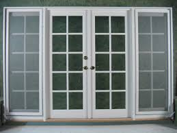 white exterior french doors. Brushed White Double Frosted Glass French Door Frames Exterior With Inspirations Doors