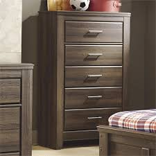 ashley furniture chest of drawers. Ashley Furniture Juararo 5-Drawer Chest In Dark Brown Of Drawers
