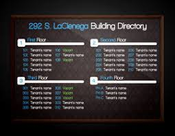 Template For Directory Design A Template For Modern Office Building Directory Freelancer