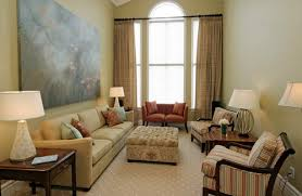 Long Small Traditional Living Room Furniture Layout By Jennifer Brouwer  Design Inc