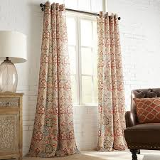 Patterned Curtains Living Room Patterned Curtains Window Treatments Window Panels Pier1com