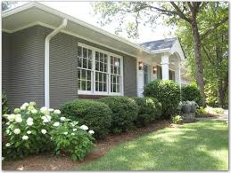 Our Slo House Curb Appeal  Exterior Paint Color Ranch Home Ranch Curb Appeal